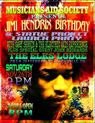 JIMI HENDRIX BIRTHDAY PARTIES