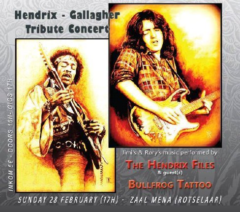 Hendrix - Gallagher Tribute