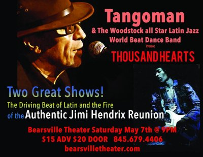 TANGOMAN & THE AUTHENTIC JIMI HENDRIX TRIBUTE BAND