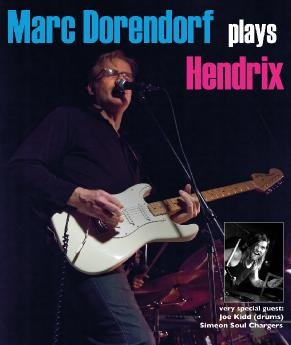 Marc Dorendorf plays Hendrix